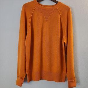 Carroll & Co Orange Scottish Cashmere Sweater